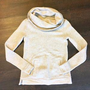 J. Crew cowl neck sweatshirt. Xxsmall